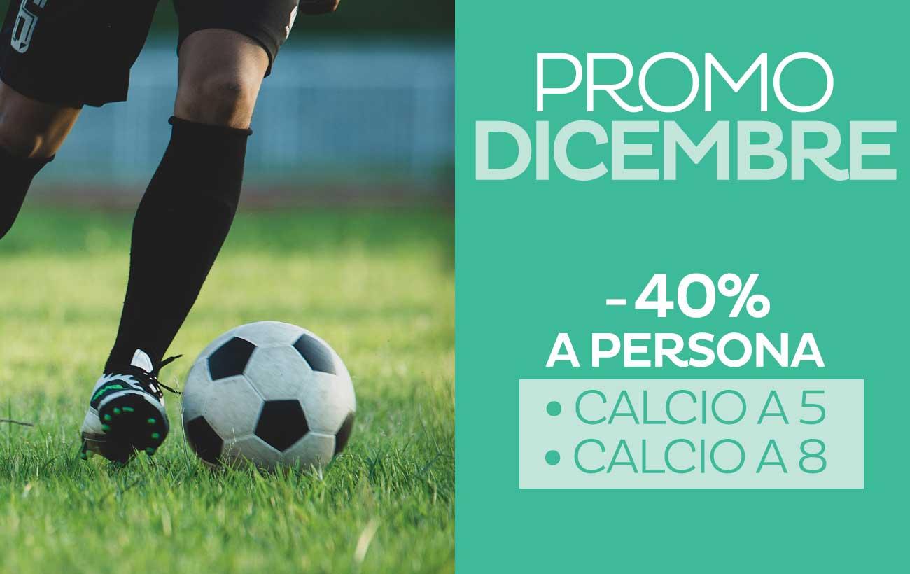 Promo Affitti Calcio a 5 e a 8